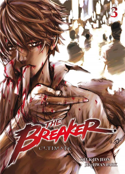 Couverture The breaker - ultimate tome 3