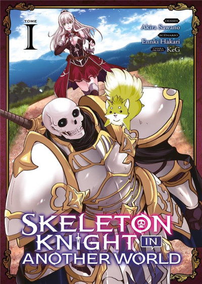 Couverture Skeleton knight in another world tome 1