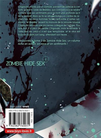 Dos Zombie hide sex tome 2