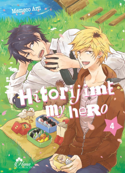 Couverture Hitorijime my hero tome 4