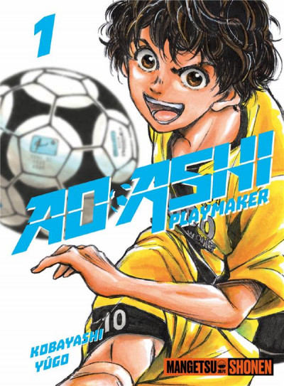Couverture Ao Ashi tome 1