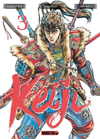 Couverture Keiji tome 3