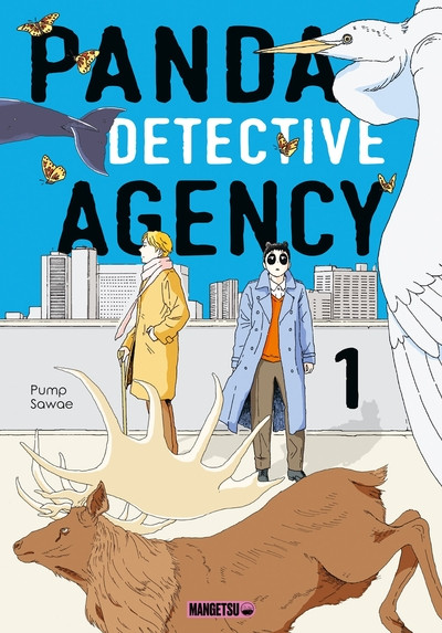 Couverture Panda detective agency tome 1