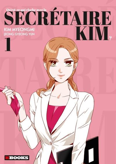Couverture Qu'est-ce qui cloche avec la secrétaire Kim tome 1