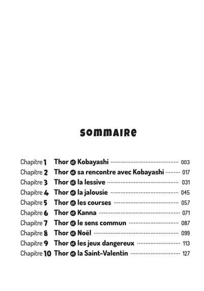 Page 3 Miss Kobayashi's dragon maid tome 1