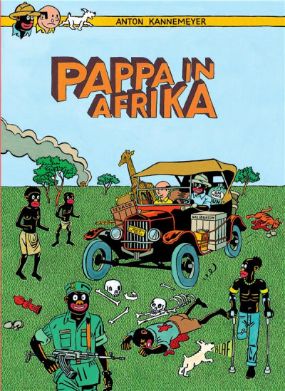 Couverture Pappa in Afrika