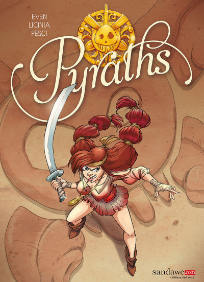 Couverture Pyraths tome 1
