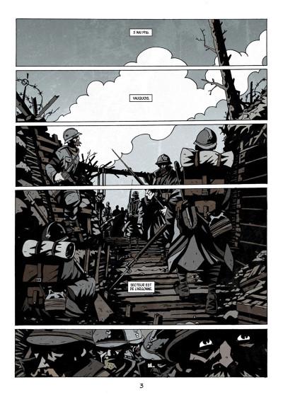 Page 1 Dessous : La montagne des morts tome 1