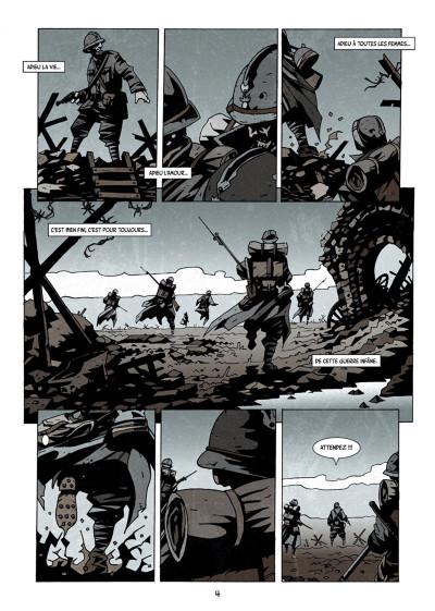 Page 2 Dessous : La montagne des morts tome 1