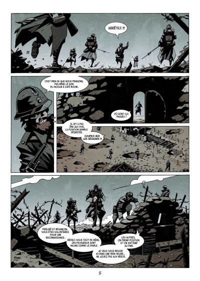 Page 3 Dessous : La montagne des morts tome 1