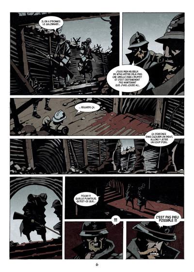 Page 4 Dessous : La montagne des morts tome 1