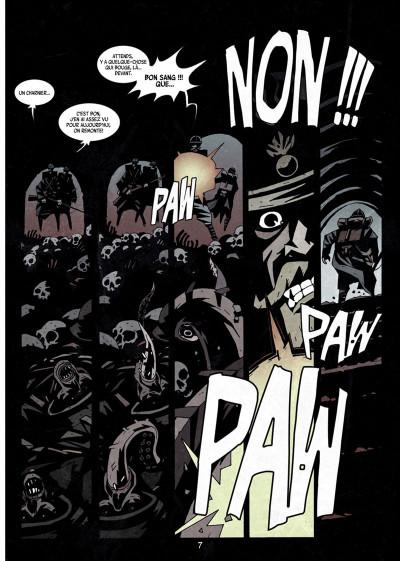 Page 5 Dessous : La montagne des morts tome 1