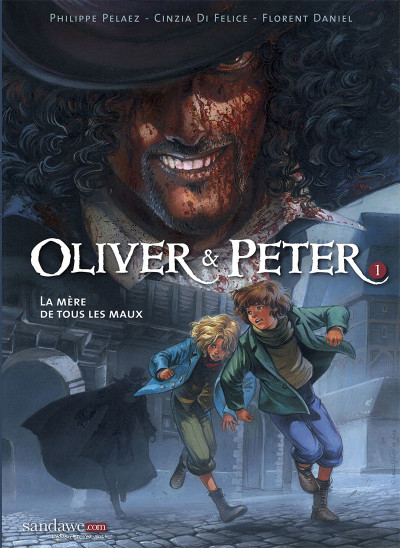 Couverture Oliver & Peter tome 1
