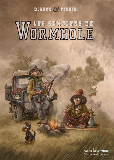 Couverture Les sentiers de Wormhole