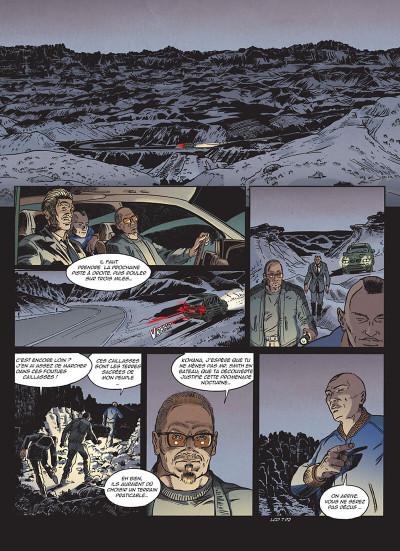 Page 4 Lance crow dog tome 7