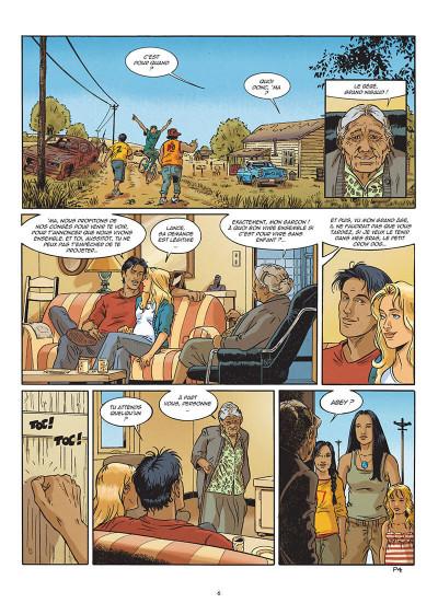 Page 6 Lance crow dog tome 7