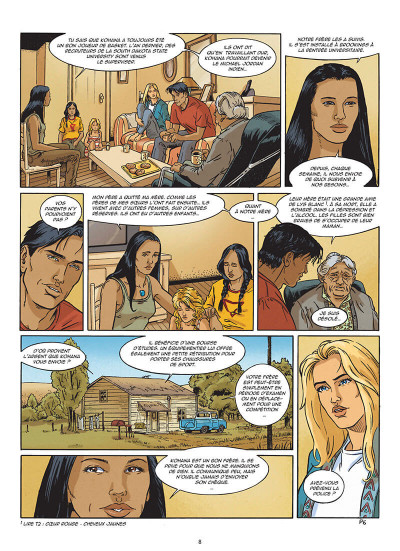 Page 8 Lance crow dog tome 7