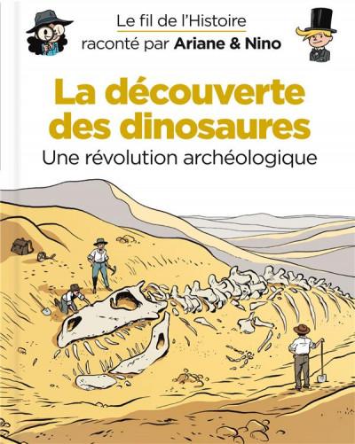 Couverture Le fil de l'histoire raconté par Ariane & Nino tome 9