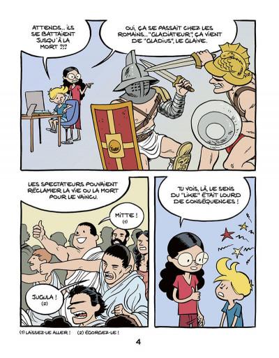 Page 6 Le fil de l'Histoire raconté par Ariane & Nino tome 10 - Les gladiateurs