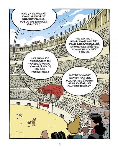 Page 7 Le fil de l'Histoire raconté par Ariane & Nino tome 10 - Les gladiateurs