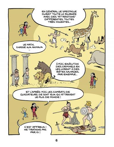 Page 8 Le fil de l'Histoire raconté par Ariane & Nino tome 10 - Les gladiateurs