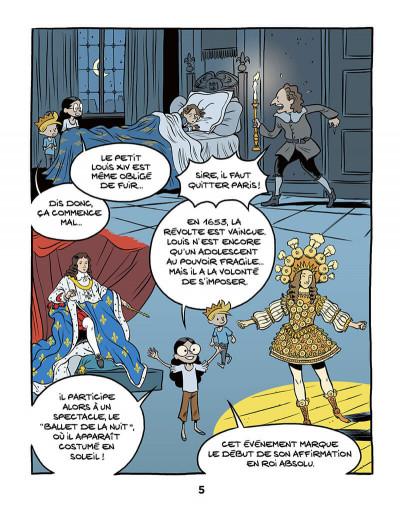 Page 7 Le fil de l'Histoire raconté par Ariane & Nino tome 11 - Louis XIV