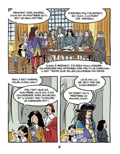 Page 8 Le fil de l'Histoire raconté par Ariane & Nino tome 11 - Louis XIV