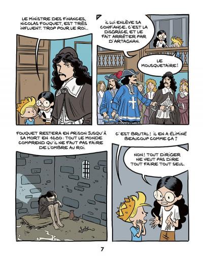 Page 9 Le fil de l'Histoire raconté par Ariane & Nino tome 11 - Louis XIV
