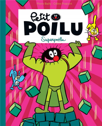 Couverture Petit Poilu (poche) tome 18 - Superpoilu