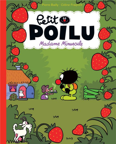 Couverture Petit Poilu (poche) tome 20 - Madame minuscule