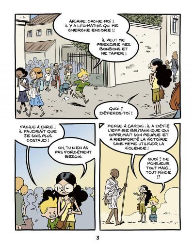 Page 5 Le fil de l'histoire raconté par Ariane & Nino tome 16 - Gandhi
