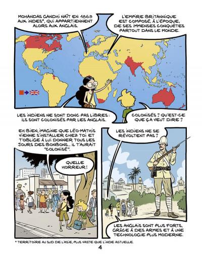 Page 6 Le fil de l'histoire raconté par Ariane & Nino tome 16 - Gandhi