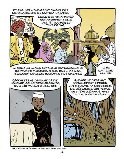 Page 7 Le fil de l'histoire raconté par Ariane & Nino tome 16 - Gandhi