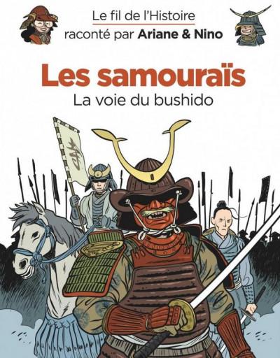 Couverture Le fil de l'histoire raconté par Ariane & Nino tome 18 - Les samouraïs