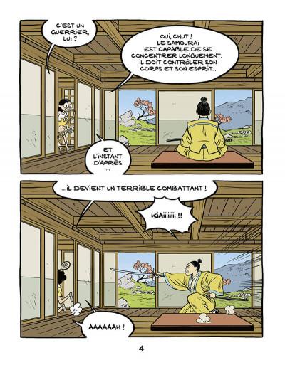 Page 5 Le fil de l'histoire raconté par Ariane & Nino tome 18 - Les samouraïs