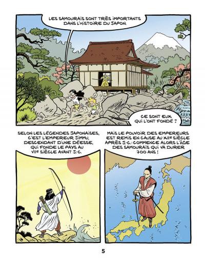 Page 6 Le fil de l'histoire raconté par Ariane & Nino tome 18 - Les samouraïs