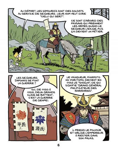 Page 7 Le fil de l'histoire raconté par Ariane & Nino tome 18 - Les samouraïs
