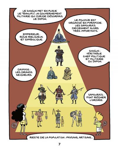 Page 8 Le fil de l'histoire raconté par Ariane & Nino tome 18 - Les samouraïs