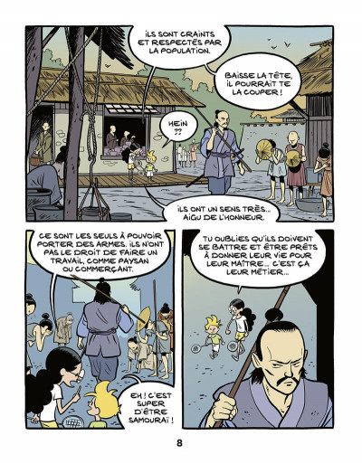 Page 9 Le fil de l'histoire raconté par Ariane & Nino tome 18 - Les samouraïs