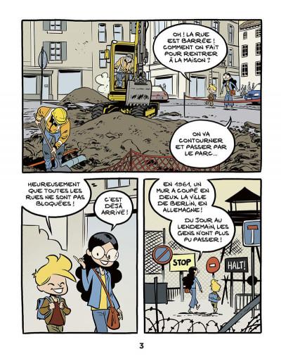 Page 4 Le fil de l'histoire raconté par Ariane & Nino tome 22 - Le mur de Berlin