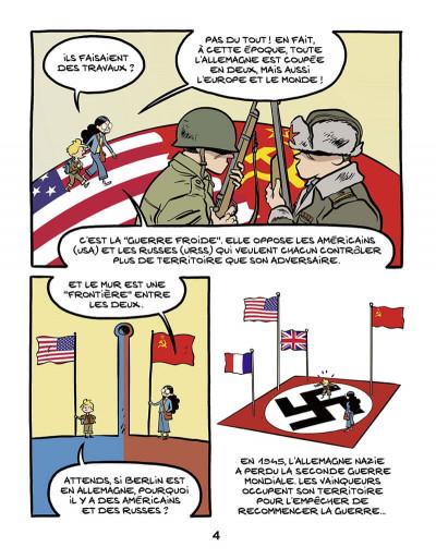 Page 5 Le fil de l'histoire raconté par Ariane & Nino tome 22 - Le mur de Berlin