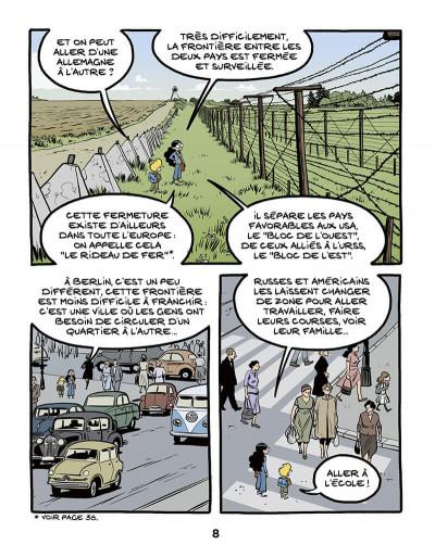 Page 9 Le fil de l'histoire raconté par Ariane & Nino tome 22 - Le mur de Berlin