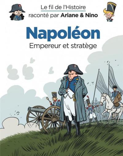 Couverture Ariane & Nino tome 23 - Napoléon