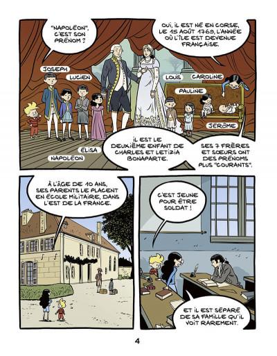Page 4 Ariane & Nino tome 23 - Napoléon