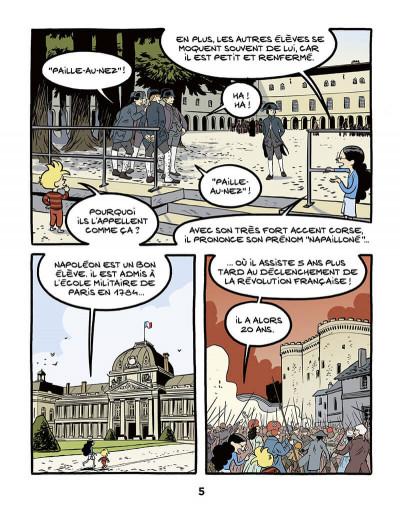 Page 5 Ariane & Nino tome 23 - Napoléon