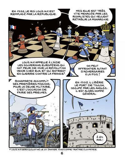 Page 6 Ariane & Nino tome 23 - Napoléon