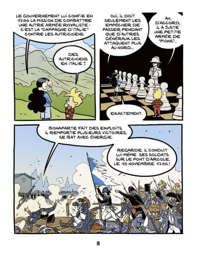 Page 8 Ariane & Nino tome 23 - Napoléon