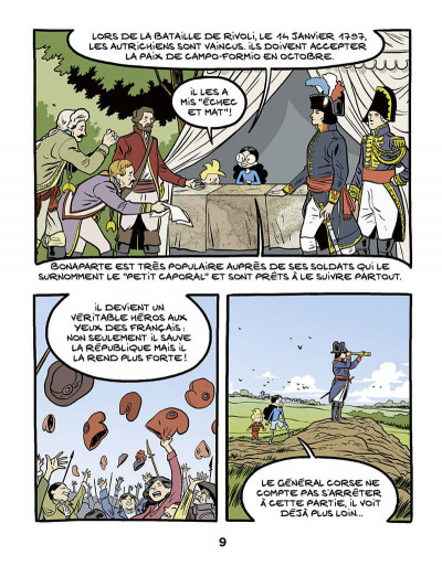 Page 9 Ariane & Nino tome 23 - Napoléon