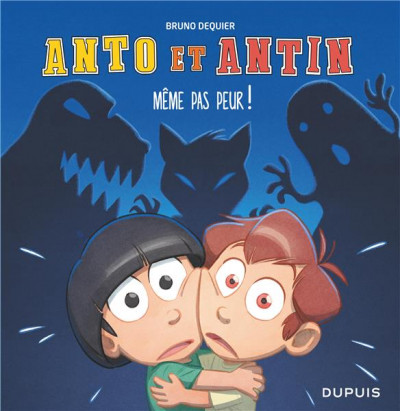 Couverture Anto et Antin tome 1