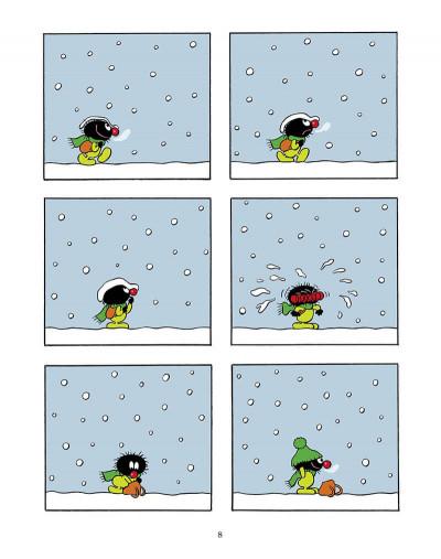 Page 9 Petit Poilu (poche) recueil - 3 histoires sous la neige